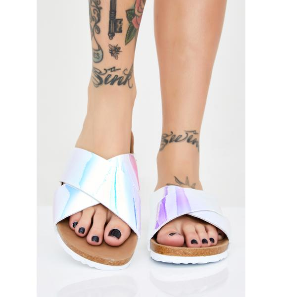 Icy Chill Holographic Slides