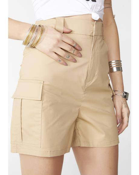 Safari Gal Cargo Shorts