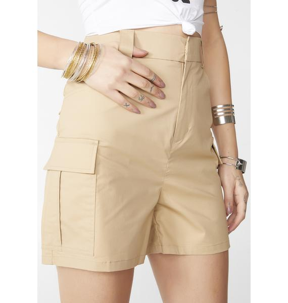 Glamorous Safari Gal Cargo Shorts
