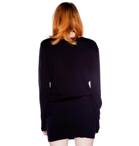 Mad Love Lightning Sweater Dress