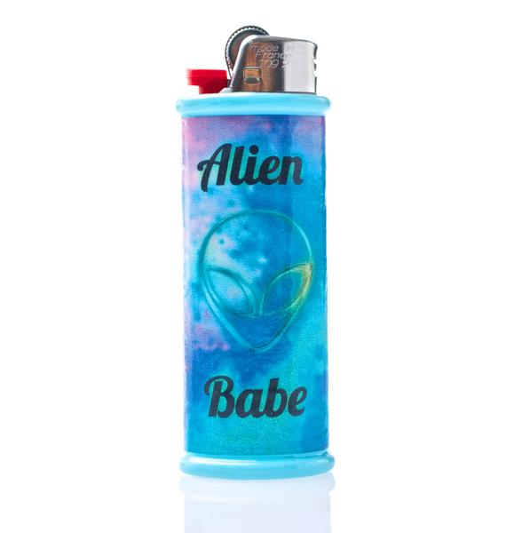 My Bubblegum Fantasy Alien Babe Lighter Case