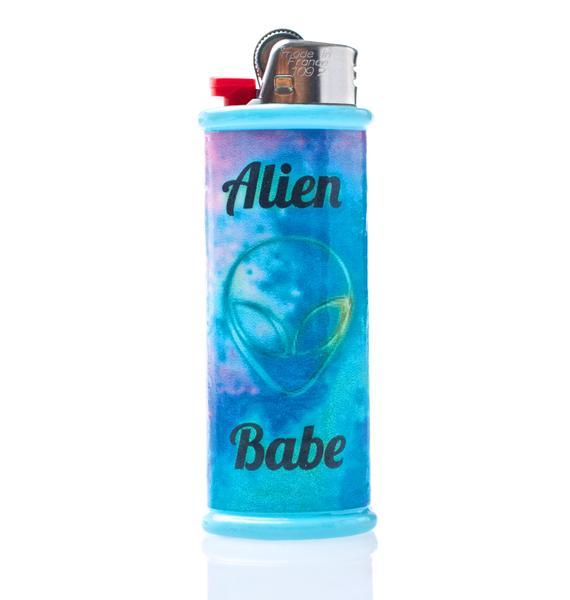 My Bubblegum Fantasy Alien Babe Lighter Case