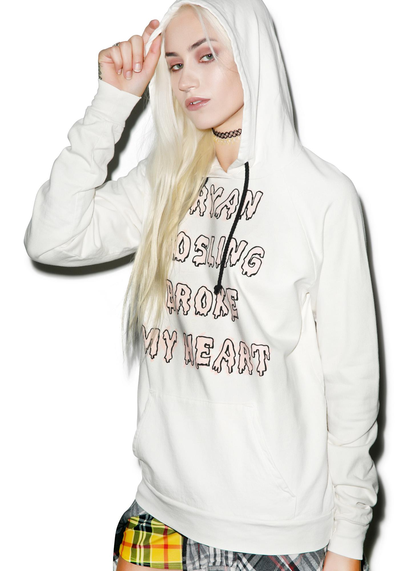 Hips and Hair Heart Breaker Hoodie