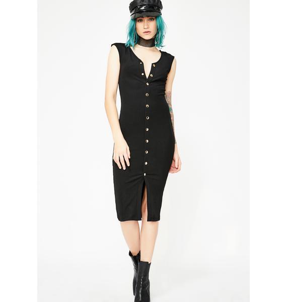 Kiki Riki Down To Business Midi Dress