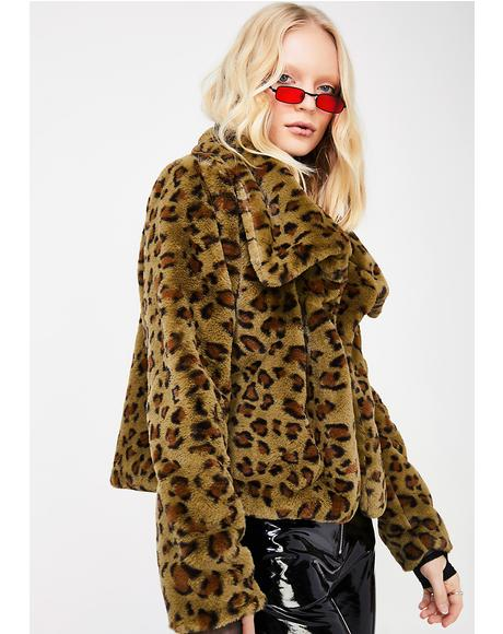 Sneak Up On Ya Fuzzy Jacket