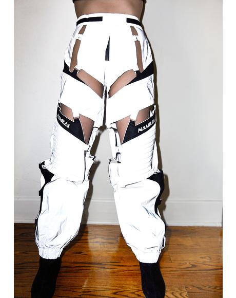 Reflective Floating Motocross Pants