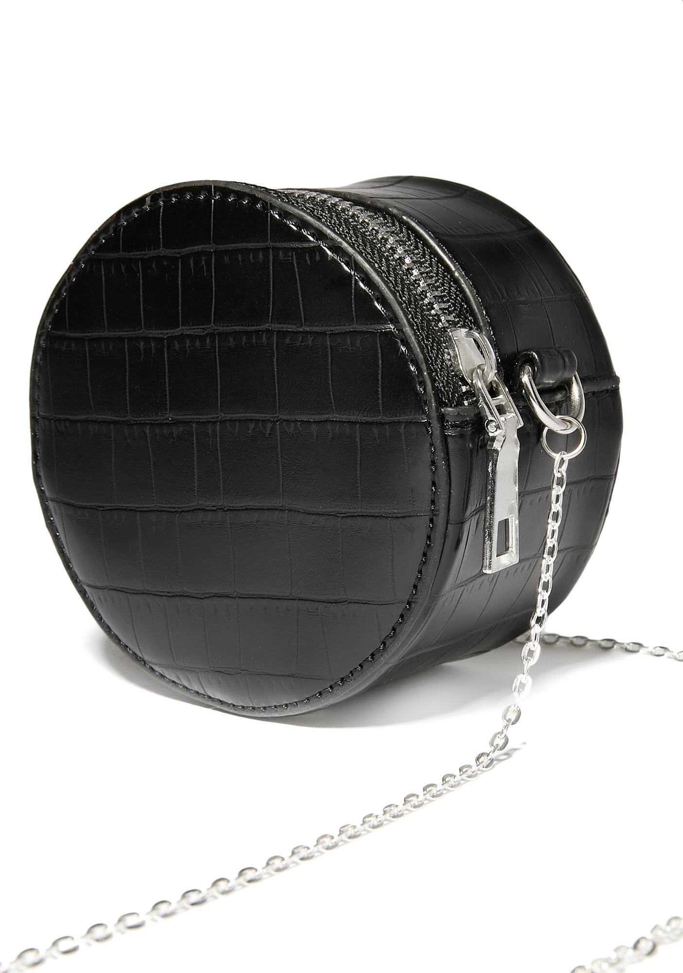 Potent Poison Round Crossbody Bag