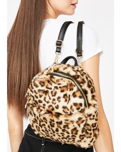 Fierce Furry Fetish Mini Backpack