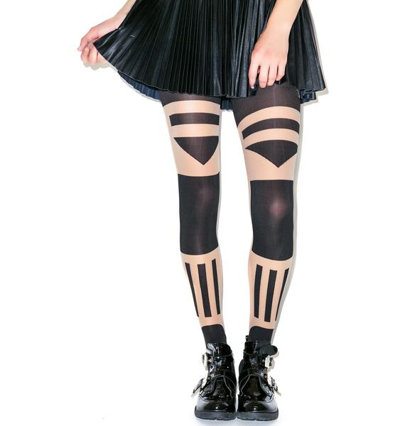 Pretty Polly Patternity Tower Block Tights