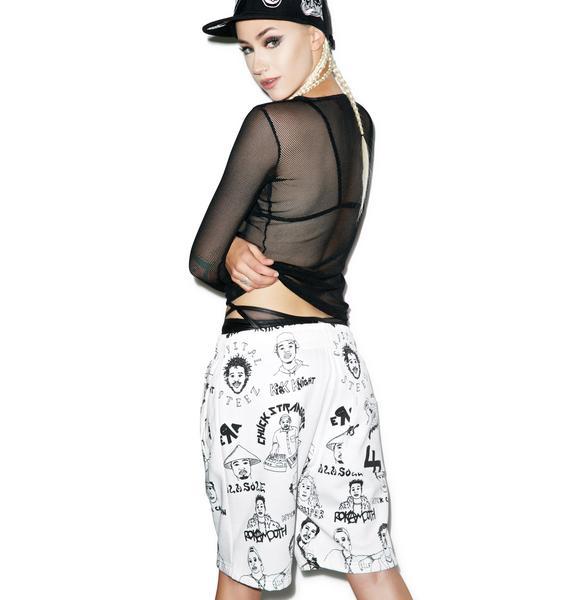 BestCoast All Over Print Shorts
