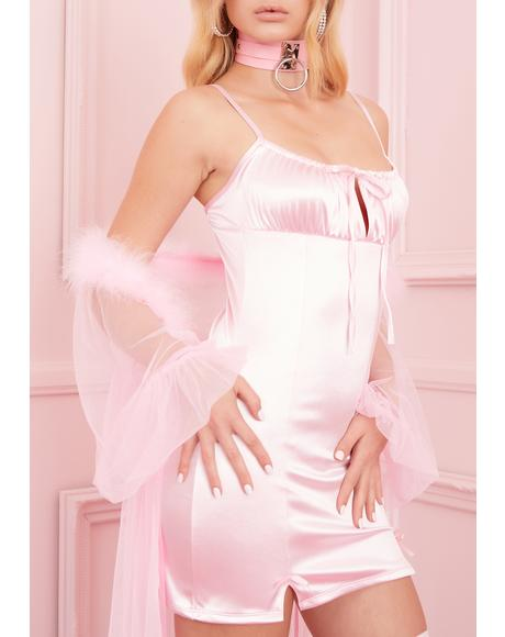 Cupid's Crush Satin Dress