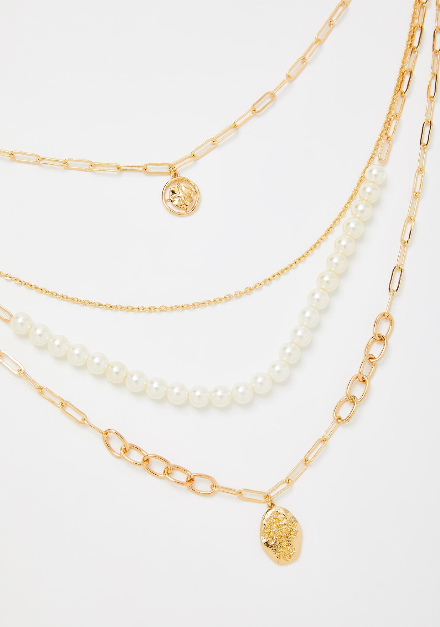 Victorian Desires Pearl Necklace