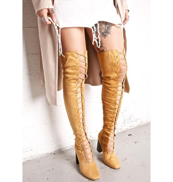 Atlas Thigh-High Boots