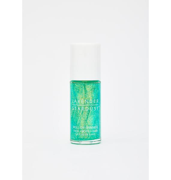 Lavender Stardust Minty Roll-On Body Shimmer