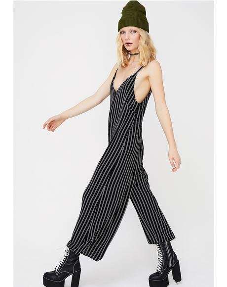 Striped Stunna Jumpsuit