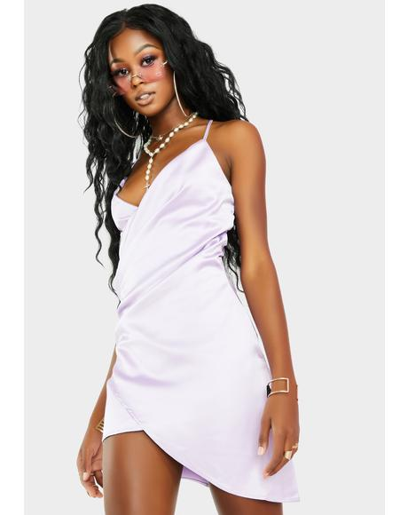 Primadonna Nights Satin Dress
