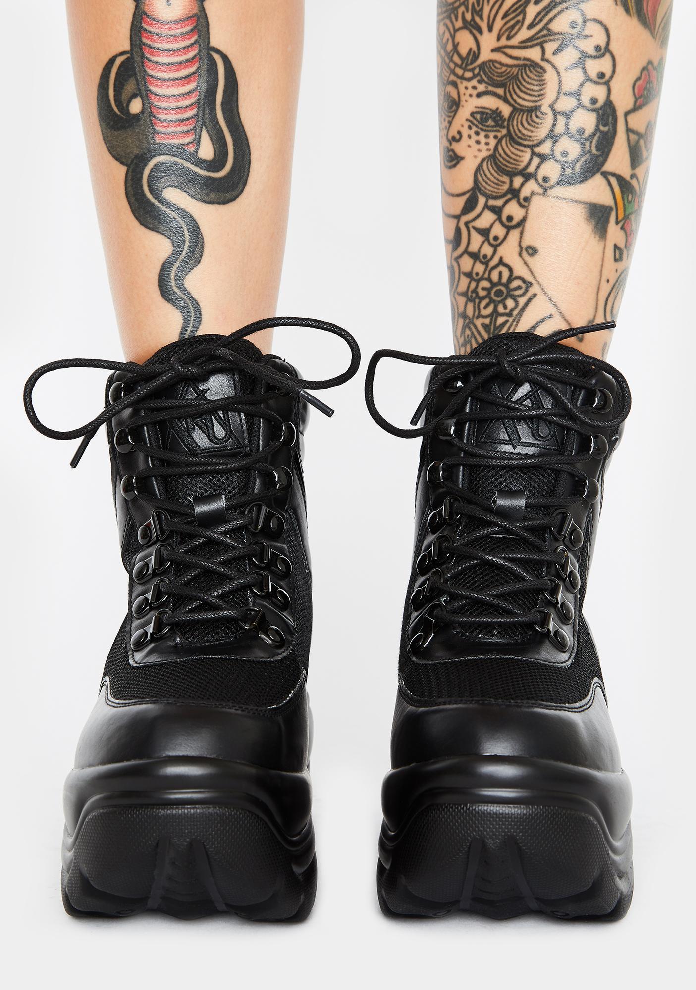 Y.R.U. Matrixx Hi 2 Platform Sneakers