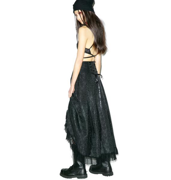 Voodoo Saloon Maxi Skirt