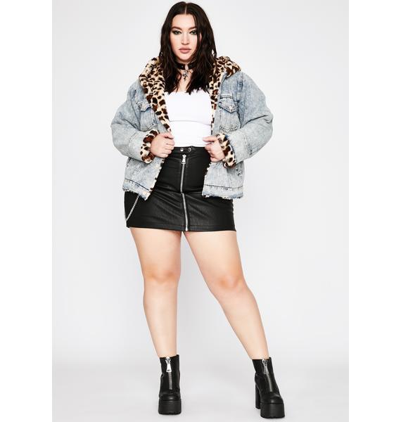 She's Miss Fierce Denim Jacket