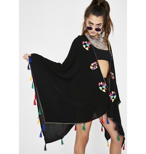 Tulip Fever Rainbow Kimono