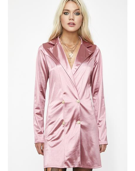 Babe Woods Blazer Dress