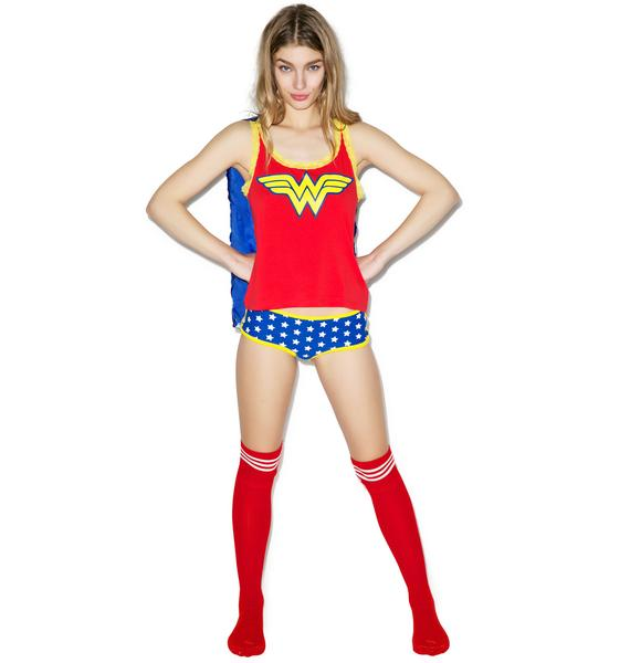 Undergirl Wonder Woman Sleep Set