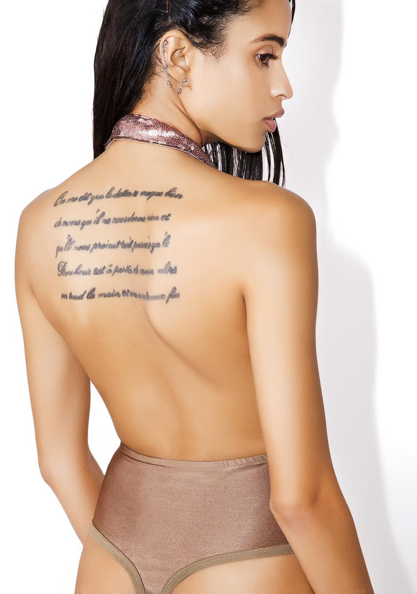 Glamorous Open Shoulder Bodysuit