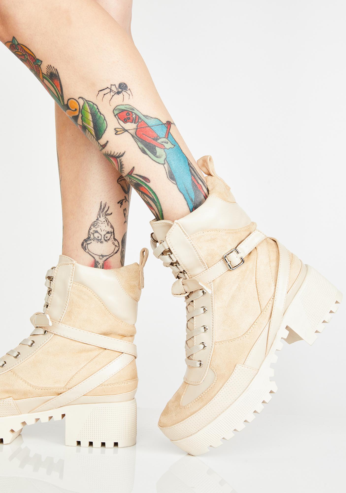Lamoda Decline Platform Boots