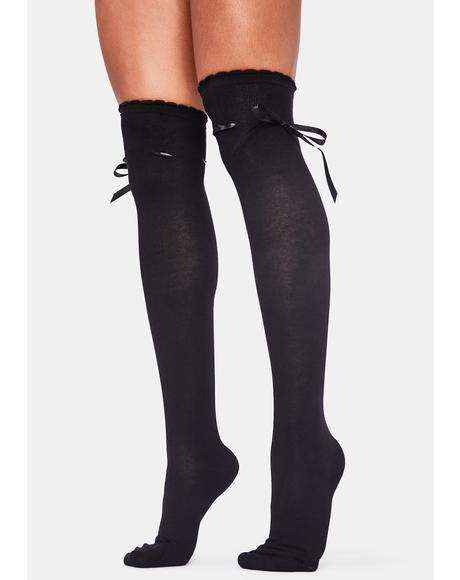 Nox Whispered Sweet Nothings Knee High Socks