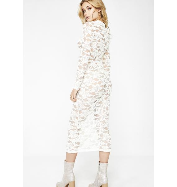 Pure Vibrations Lace Dress