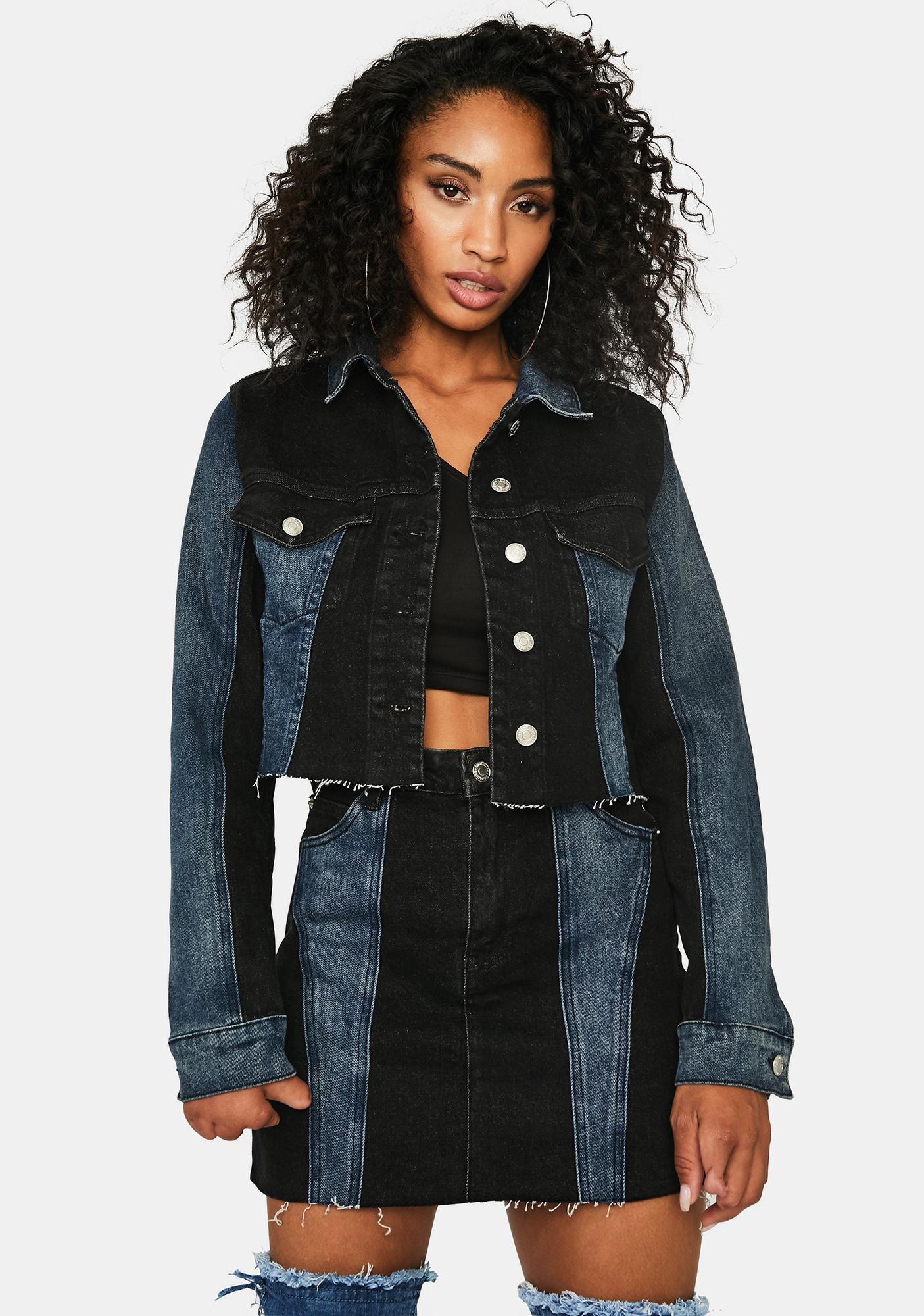 Make It Werk Denim Jacket