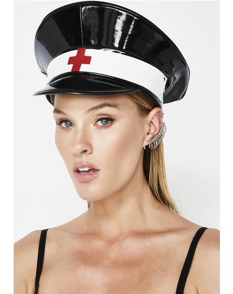 Nurse Ratchet Vinyl Hat