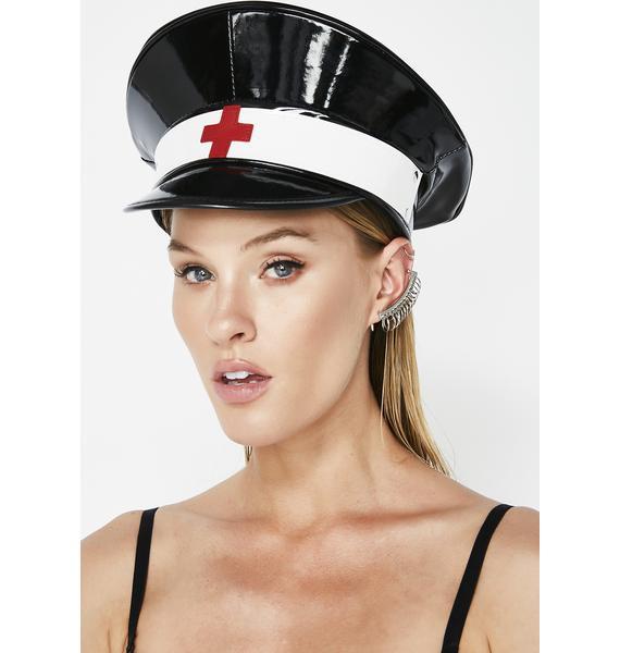 Nurse Ratchet Vinyl Hat