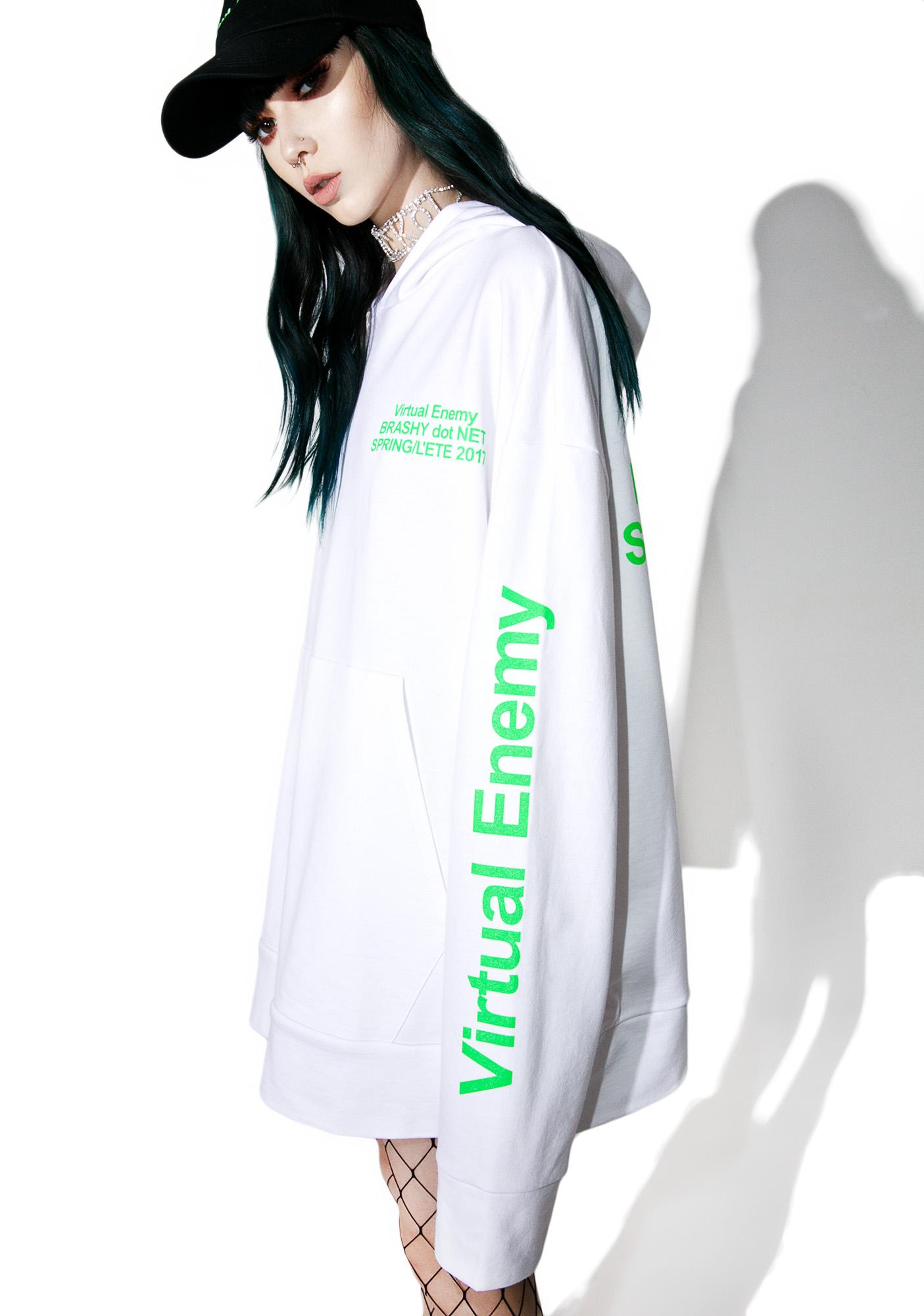 Brashy Virtual Enemy Hoodie