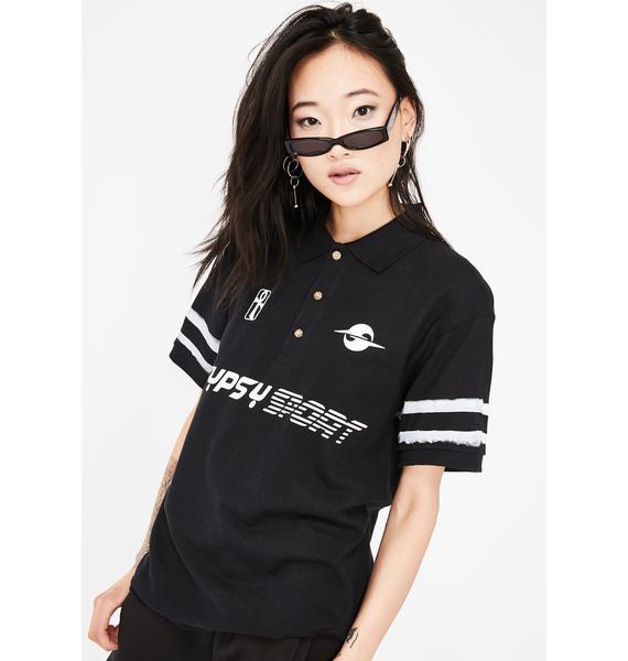 Gypsy Sport 3-Stripe Polo Shirt