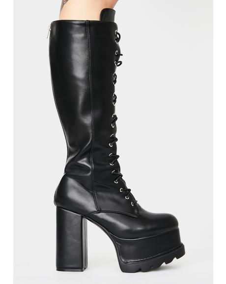 The Real Deal Platform Boots