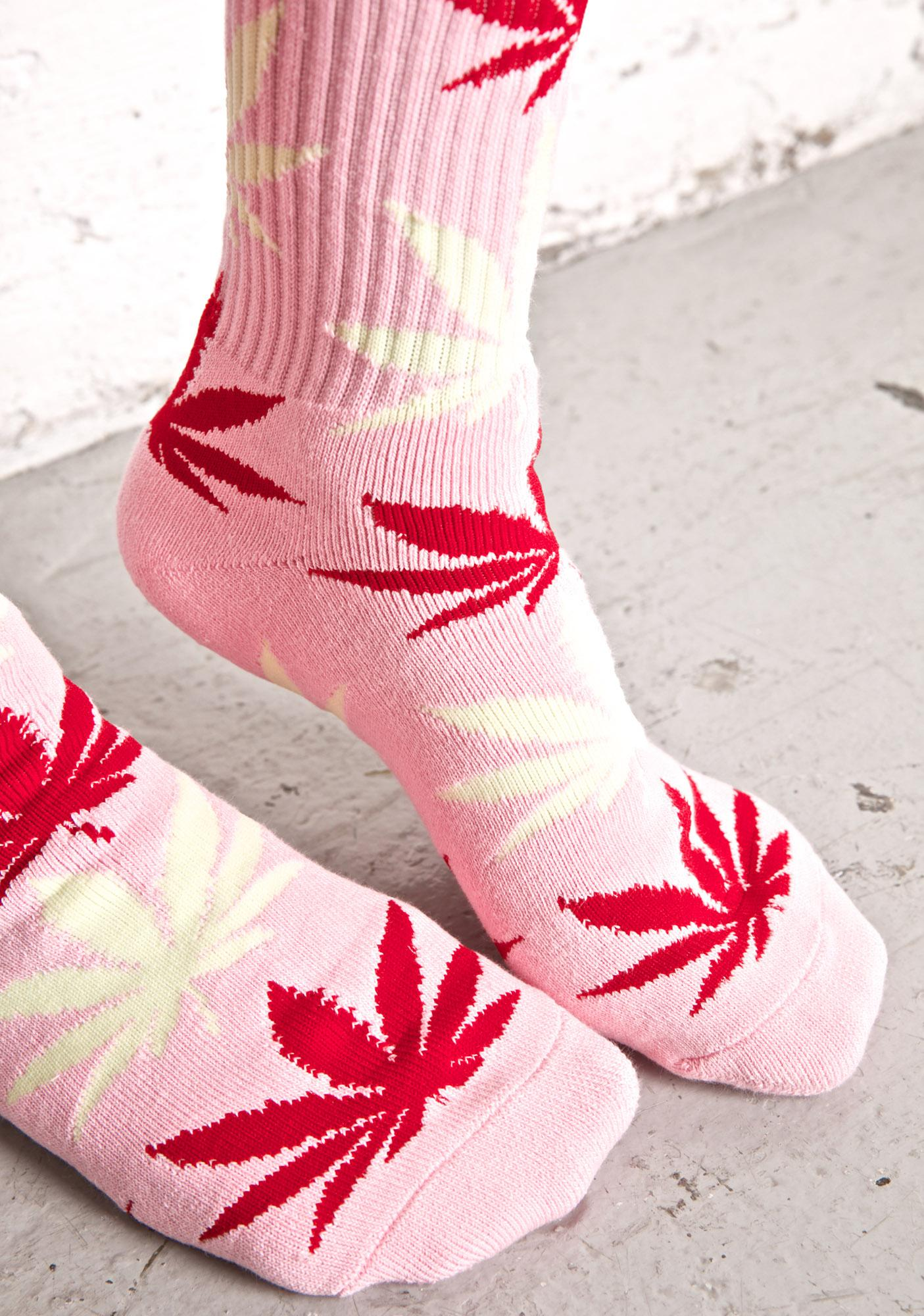 HUF Strawberry Plantlife Crew Socks