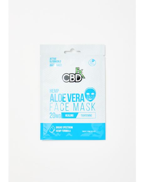 Aloe Vera CBD Face Mask