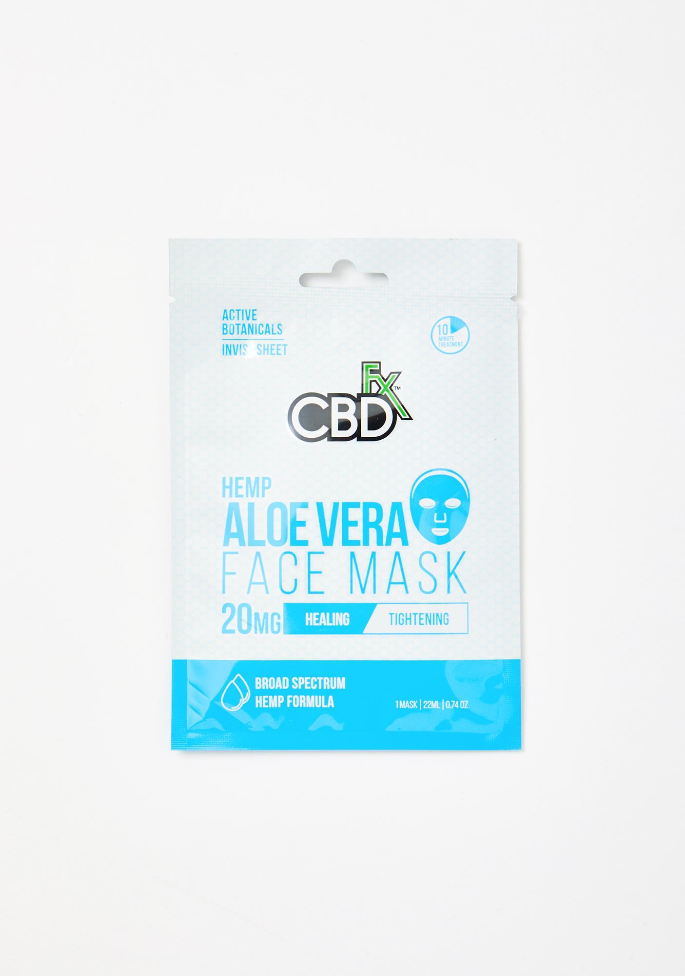 CBDfx Aloe Vera CBD Face Mask