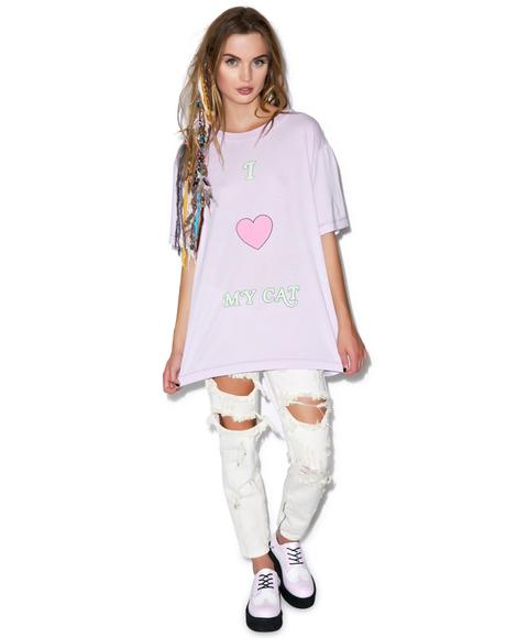 Kitty Love Tomboy Tee