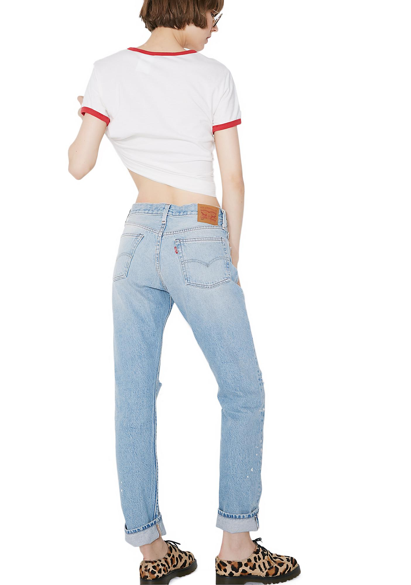 Levis 501 Jeans For Women