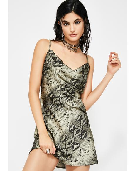 Toxic Here To Offend Mini Dress