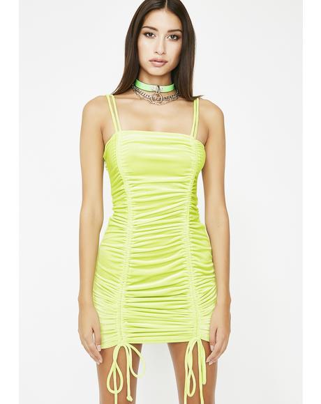 Toxicity Velvet Mini Dress