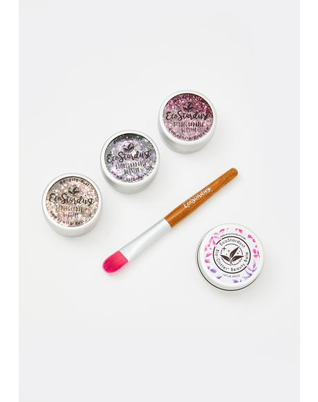 Smitten Biodegradable Loose Glitter Set