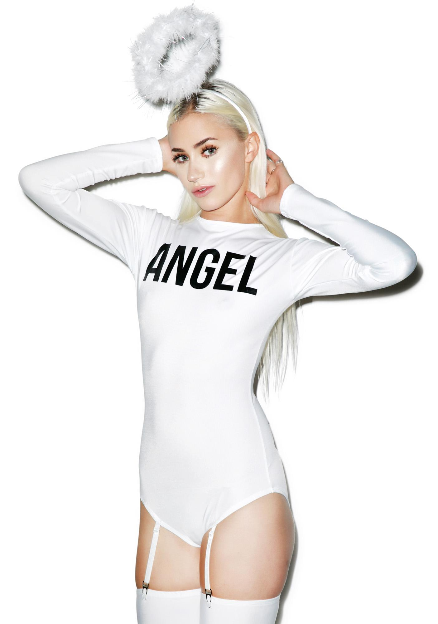 Angel Baby Bodysuit Set