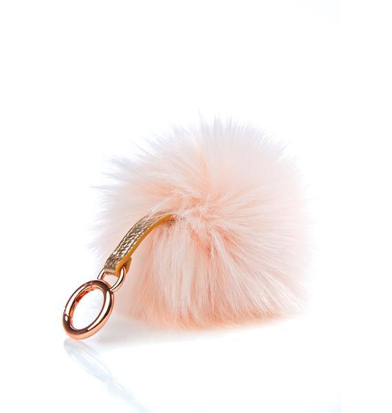 Skinnydip Candy Pom Pom Keychain