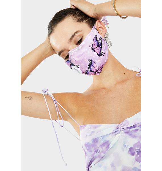 Floatin' Away Face Mask