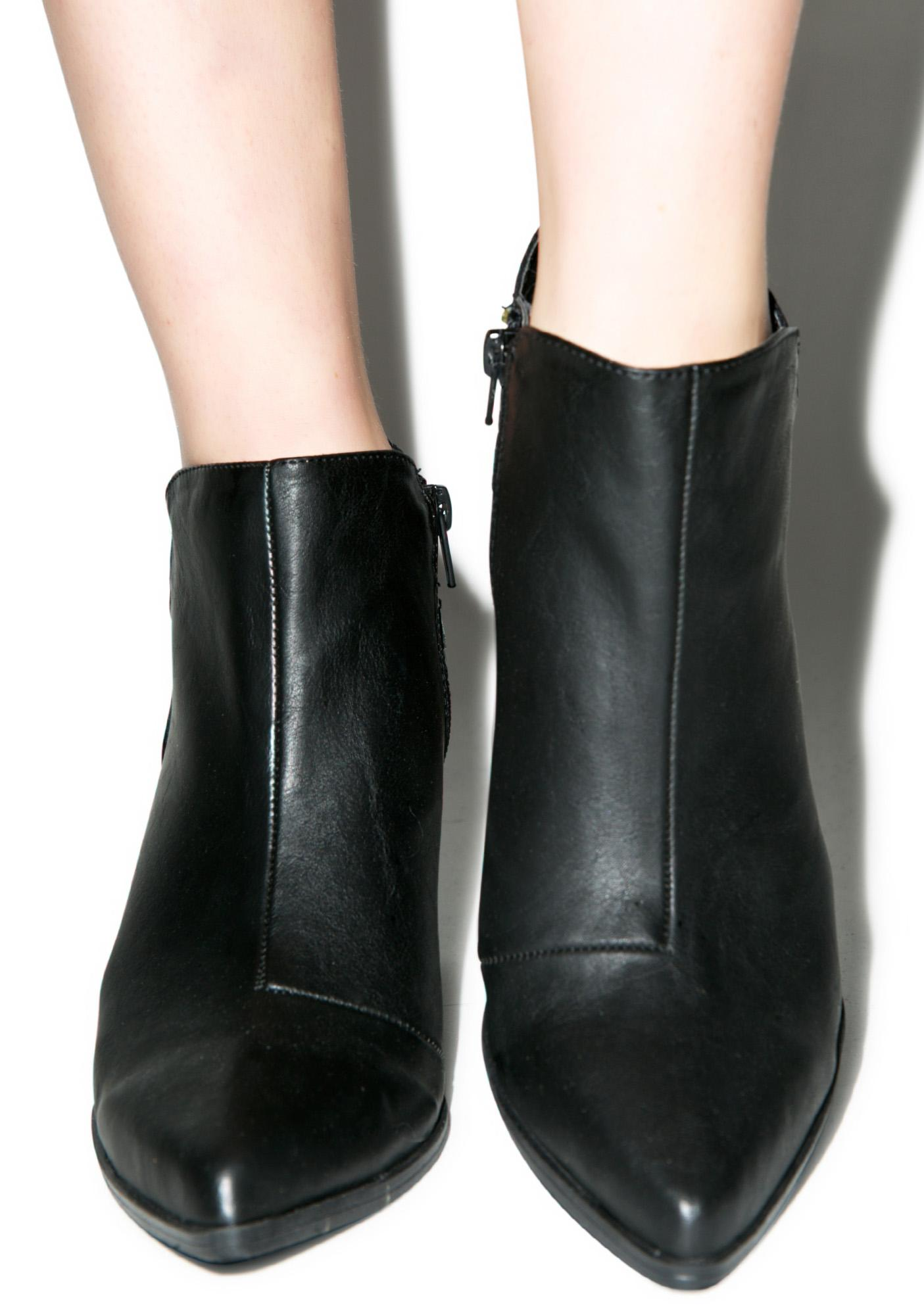 Tilt Ankle Booties
