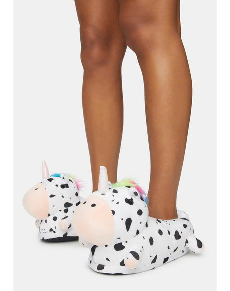 Unicow Light Up Slippers