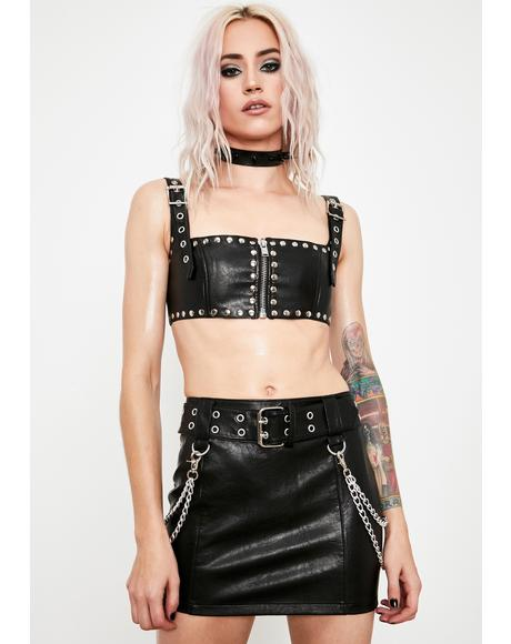Untamed Heart Mini Skirt